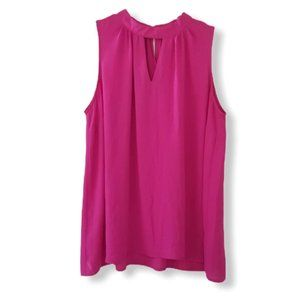 Violet & Claire Women's 1X Pink Sleeveless Tunic